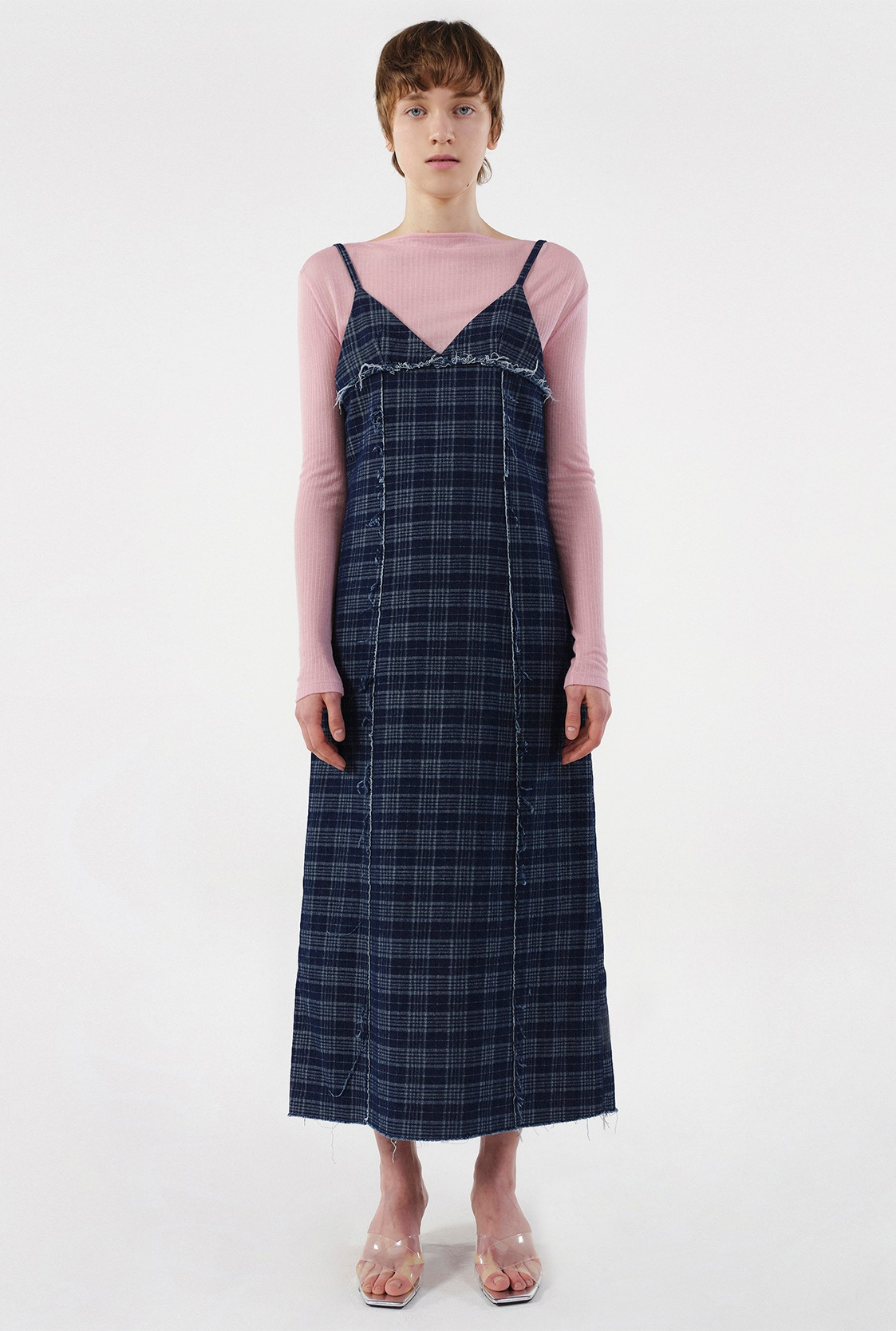 R CHECK CUTTING DRESS