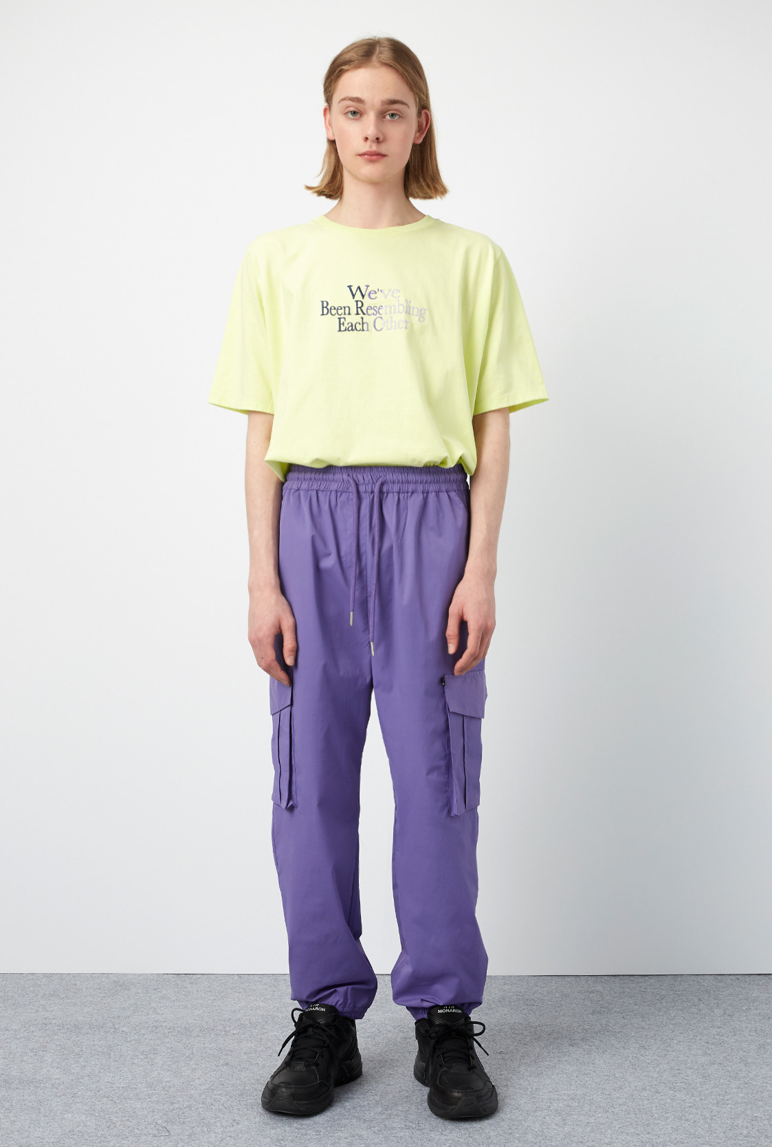 M)R CARGO BANDING PANTS [3COLOR]