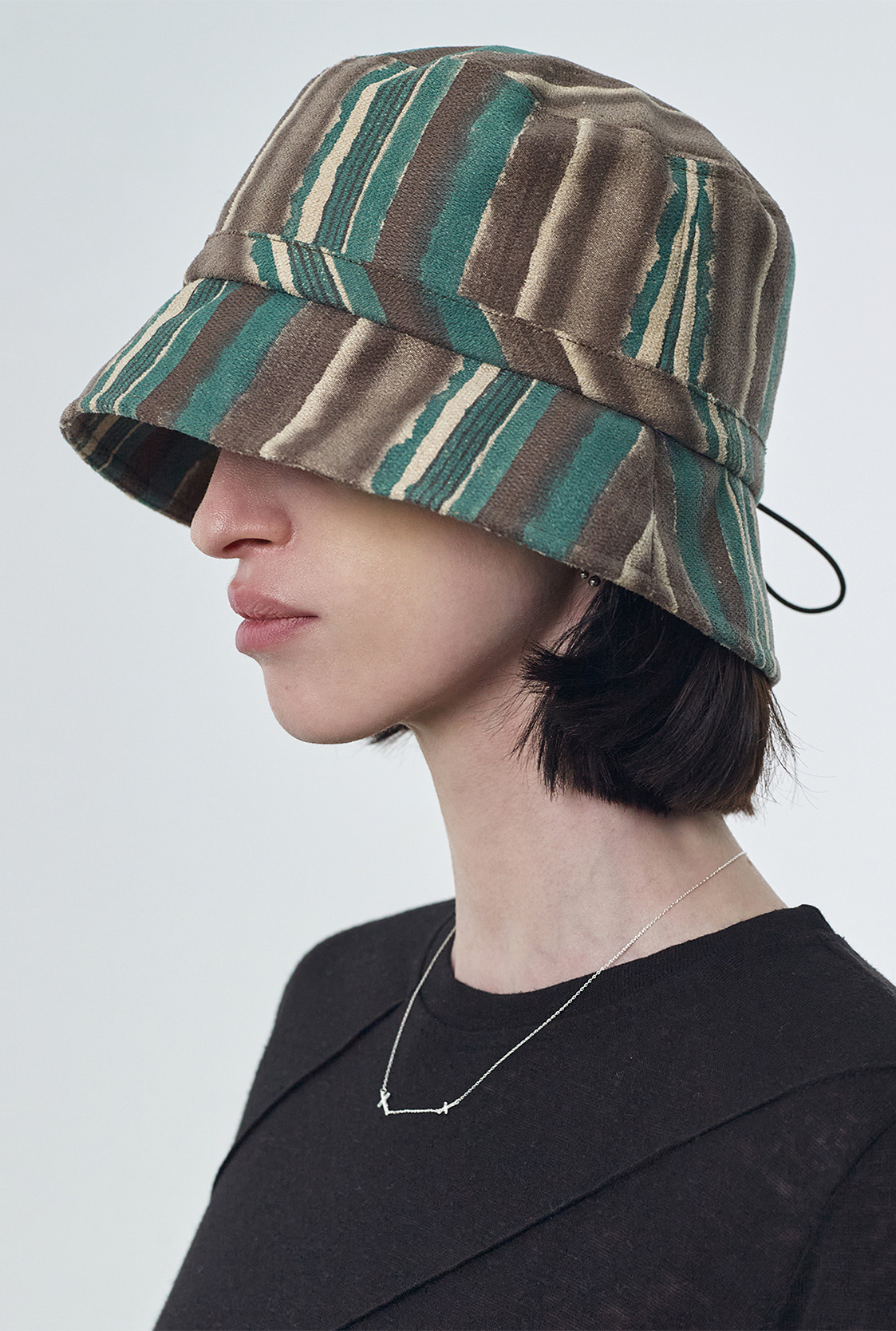R STOPPER BUCKET HAT [2colors]